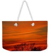 Red Sky Weekender Tote Bag