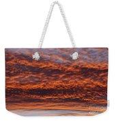 Red Sky Weekender Tote Bag by Michal Boubin