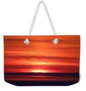Red Sky Morning Weekender Tote Bag