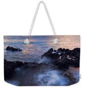 Red Sky Over Lanai Weekender Tote Bag by Mike  Dawson