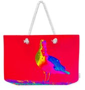 Red Sky Seagull Weekender Tote Bag