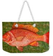 Red Snapper Weekender Tote Bag