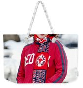 Red Sox Girl Weekender Tote Bag