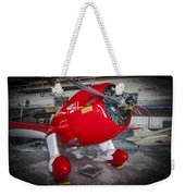 Red Speedster Weekender Tote Bag