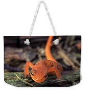 Red Spotted Newt Weekender Tote Bag