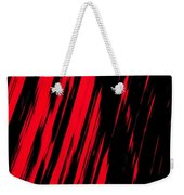 Red Storm Weekender Tote Bag