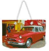 Red Studebaker Weekender Tote Bag