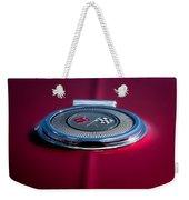 Red Sunburst Weekender Tote Bag