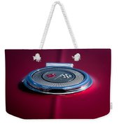 Red Sunburst Weekender Tote Bag