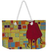 Red Sweater Day Weekender Tote Bag