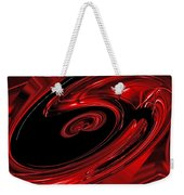 Red Swirl  Weekender Tote Bag