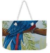 Red Tail Macaw Too Weekender Tote Bag