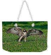 Red-tailed Hawk & Gopher Snake Weekender Tote Bag