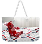 Red Teddy Bear Weekender Tote Bag