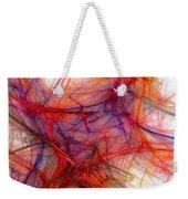Red Threads Weekender Tote Bag