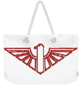 Red Thunderbird 1 Weekender Tote Bag