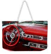 Red Thunderbird Dash Weekender Tote Bag