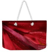 Red Ti The Queen Of Tropical Foliage Weekender Tote Bag