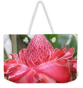 Red Torch Ginger Weekender Tote Bag