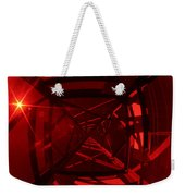 Red Tower Weekender Tote Bag