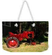 Red Tractor Weekender Tote Bag