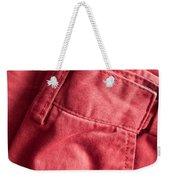 Red Trousers Weekender Tote Bag