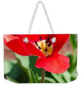 Red Tulip Weekender Tote Bag