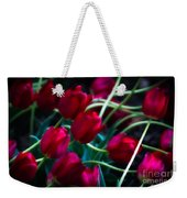 Red Tulip River Weekender Tote Bag