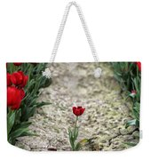 Red Tulips Weekender Tote Bag by Jim Corwin