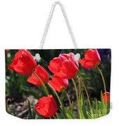 Red Tulips Weekender Tote Bag