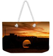 Red Twilight I Weekender Tote Bag