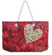 Red Valentine Weekender Tote Bag