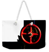 Red Valve  Weekender Tote Bag by Bob Orsillo