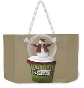 Red Velvet Cupcake Weekender Tote Bag