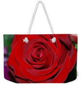 Red Velvet Rose Weekender Tote Bag