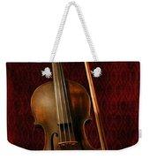 Red Violin Weekender Tote Bag