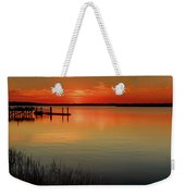 Red Water Weekender Tote Bag