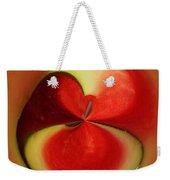 Red Watermelon Weekender Tote Bag