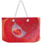 Red Whirlpool Weekender Tote Bag