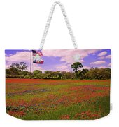 Red White And Beautiful Weekender Tote Bag