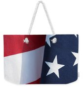Red White And Blue Weekender Tote Bag by Laurel Powell