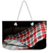 Red White And Blue Quilt  Weekender Tote Bag