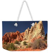 Red White And Blue Sky Weekender Tote Bag