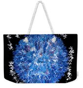 Red  White  Blue  Abstract Weekender Tote Bag