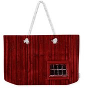 Red Window Weekender Tote Bag