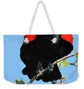 Red Wing Blackbird 1 Weekender Tote Bag