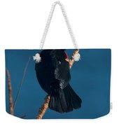 Red Winged Black Bird Weekender Tote Bag