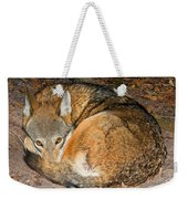Red Wolf Weekender Tote Bag