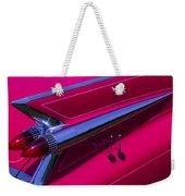 Red1959 Cadillac Weekender Tote Bag