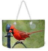 Redbird Alert Weekender Tote Bag